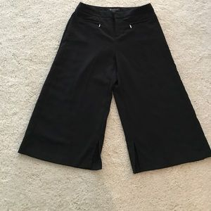 Women's dress flare crop pants